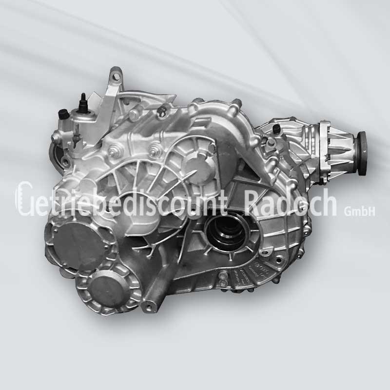 Getriebe VW T5 2.0 TDI Synchro, 6 Gang, mit Winkelantrieb - PAQ